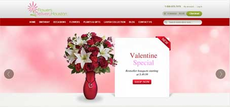 flowersdeliveryhouston - E-Commerce Web Development