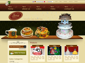 Gulati Bakers India Web Design
