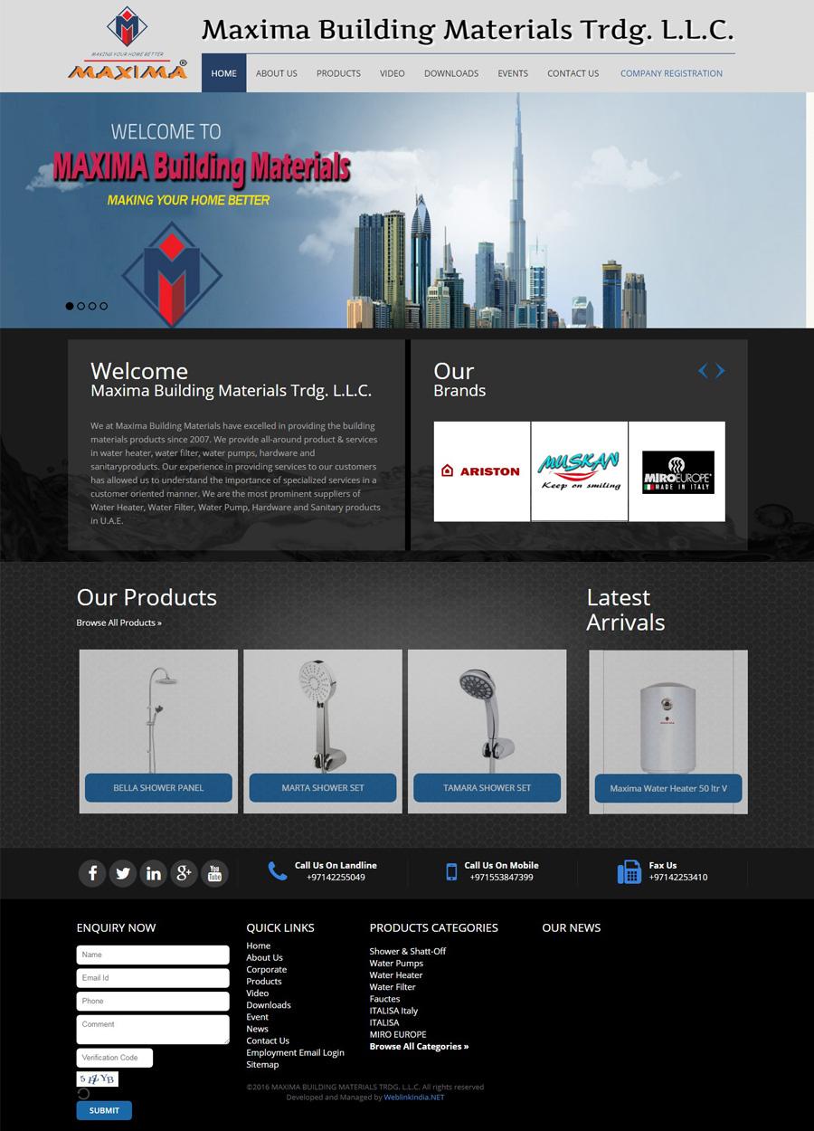 Maxima Building Materials Trdg
