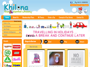 Khilona India Web Design