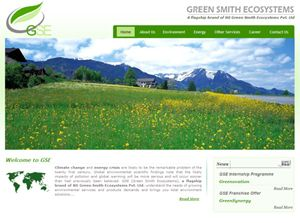 RD Green Smith Ecosystems Pvt Ltd India Web Design