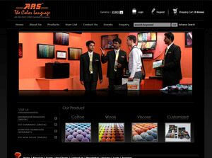 ARS Colors  India Web Design