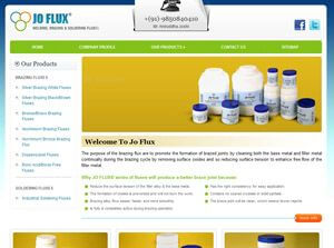 JO FLUX India Web Design