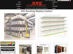 ARS Display  India Web Design