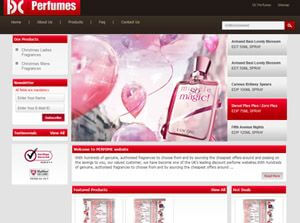 Dcperfumes.co.uk United Kingdom Web Design