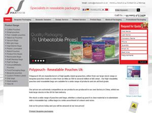 Polypouch  United Kingdom Web Design